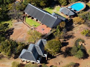 Thaba Khaya Game Lodge Aerial View