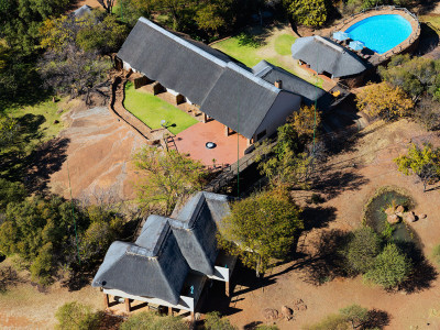 Thaba Khaya Game Lodge Aerial View