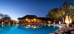 Thaba Khaya Game Lodge at Night
