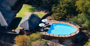Thaba Khaya Lodge aerial view