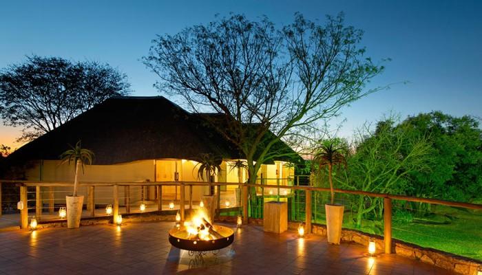 Thaba Khaya Game Lodge Fire