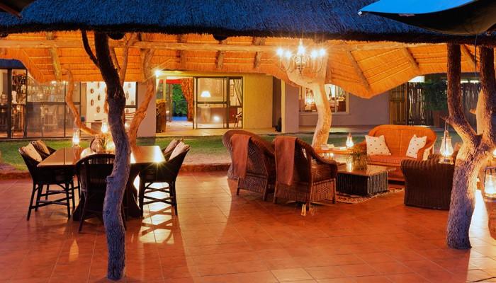 Thaba Khaya Game Lodge Sitting Area