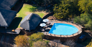 Thaba Khaya Game Lodge Pool Aerial