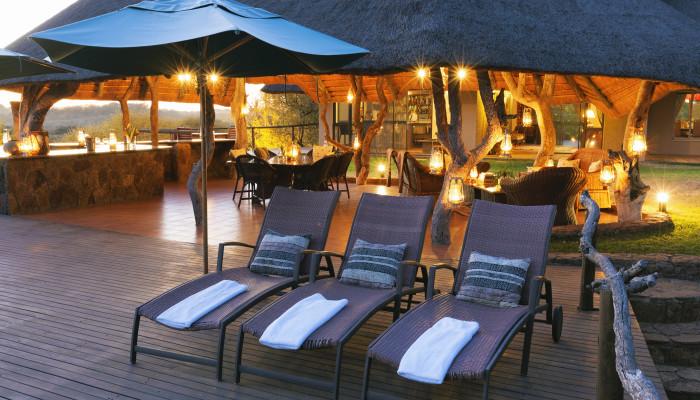 Thaba Khaya Lodge Pool-Deck